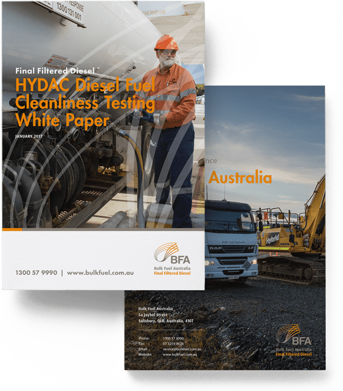 HYDAC Fuel Filter Diesel Fuel Cleanliness Testing White Paper