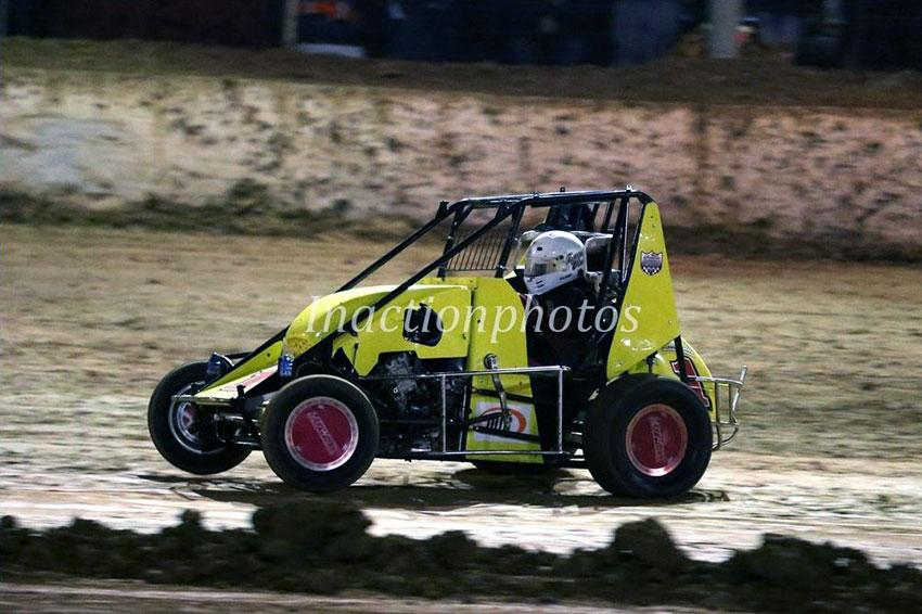 Compact Speedcars are a great family fun at the Speedway