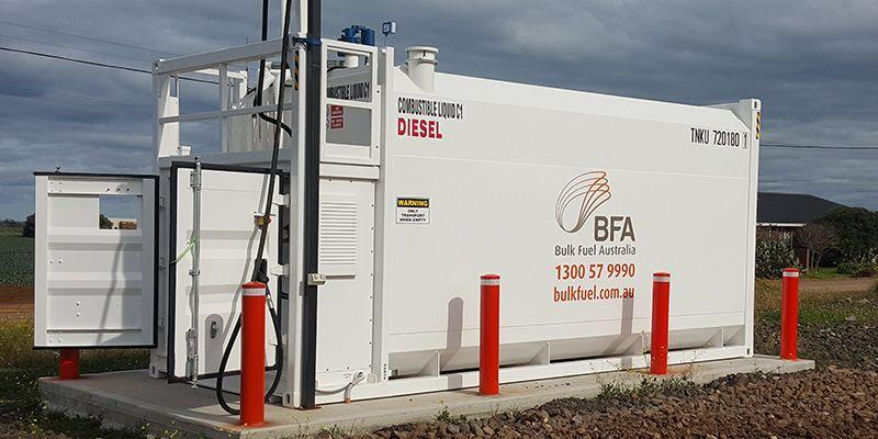 3 benefits of on-site fuel storage